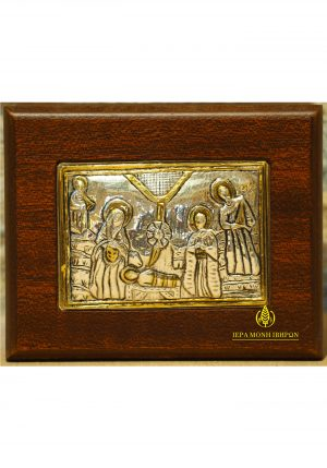 """Nativity of Christ "" - copy of detail of a reliquary"