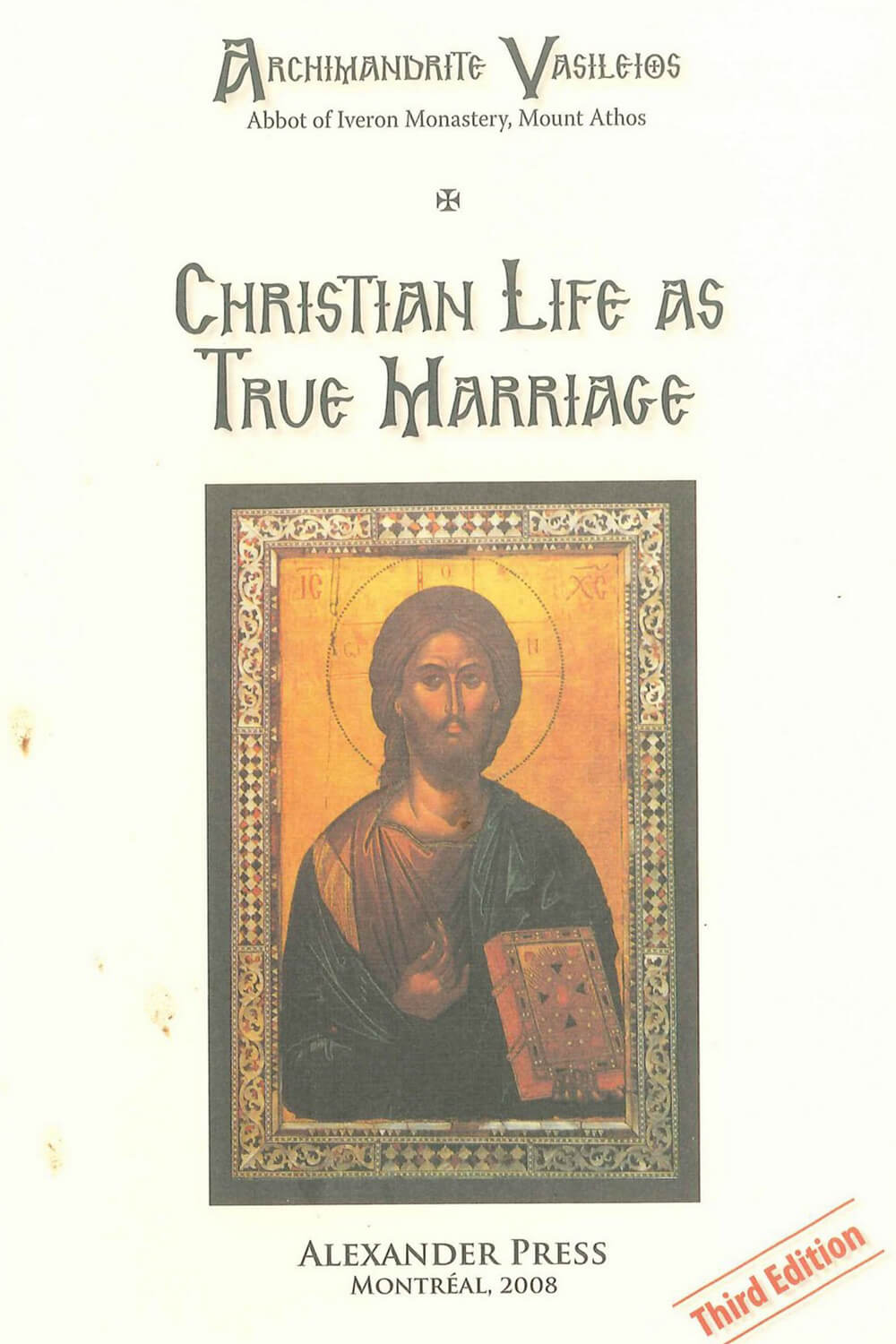 Christian Life as True Marriage
