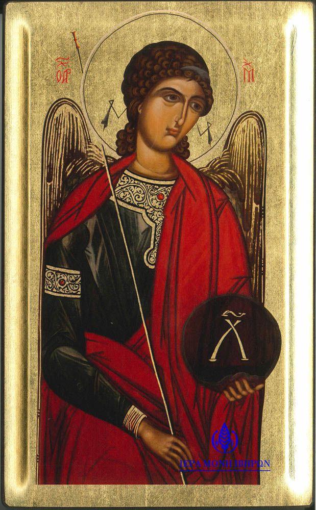 Από τη «Μεγάλη Δέησι», Αντίγραφο Ιεράς Εικόνος «Αρχάγγελος Μιχαήλ», 16ος αι.