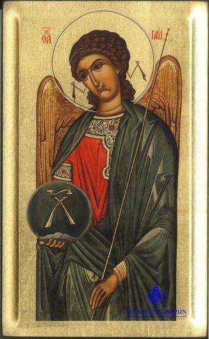 Από τη «Μεγάλη Δέησι», Αντίγραφο Ιεράς Εικόνος «Αρχάγγελος Γαβριήλ», 16ος αι.