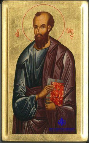 Από τη «Μεγάλη Δέησι», Αντίγραφο Ιεράς Εικόνος «Απόστολος Παύλος», 16ος αι.