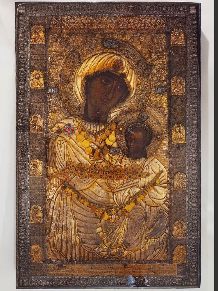 Αντίγραφο Ιεράς Εικόνας Παναγίας Πορταϊτίσσης