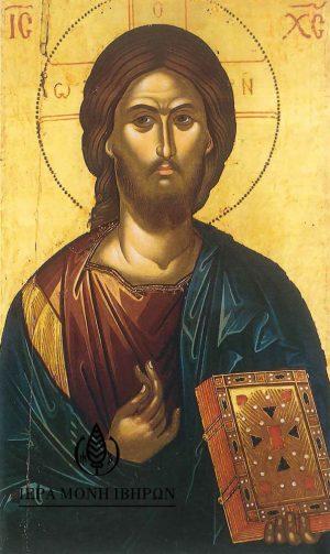 χάρτινη εικόνα Χριστός (Θεοφάνους Κρητός)
