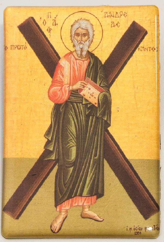 """εικόνα μαγνητική """"Απόστολος Ανδρέας"""""""